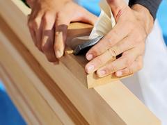 十分に乾燥した木材を使うとこが大事